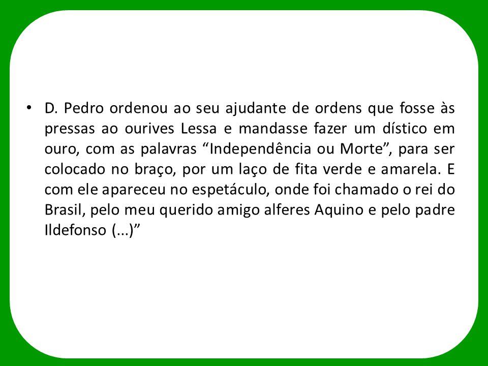 INDEPENDÊNCIA OU MORTE ou O Grito do Ipiranga de Pedro Américo, 1888.
