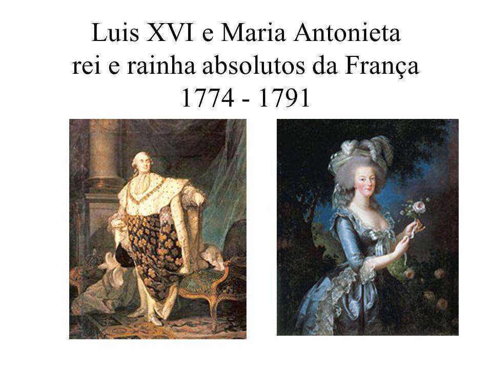 Alguns fatos que levaram à França ruína financeira em 1789: Guerra dos Sete Anos – 1756 a 1765; Luís XVI foi coroado rei, assumindo uma França já com