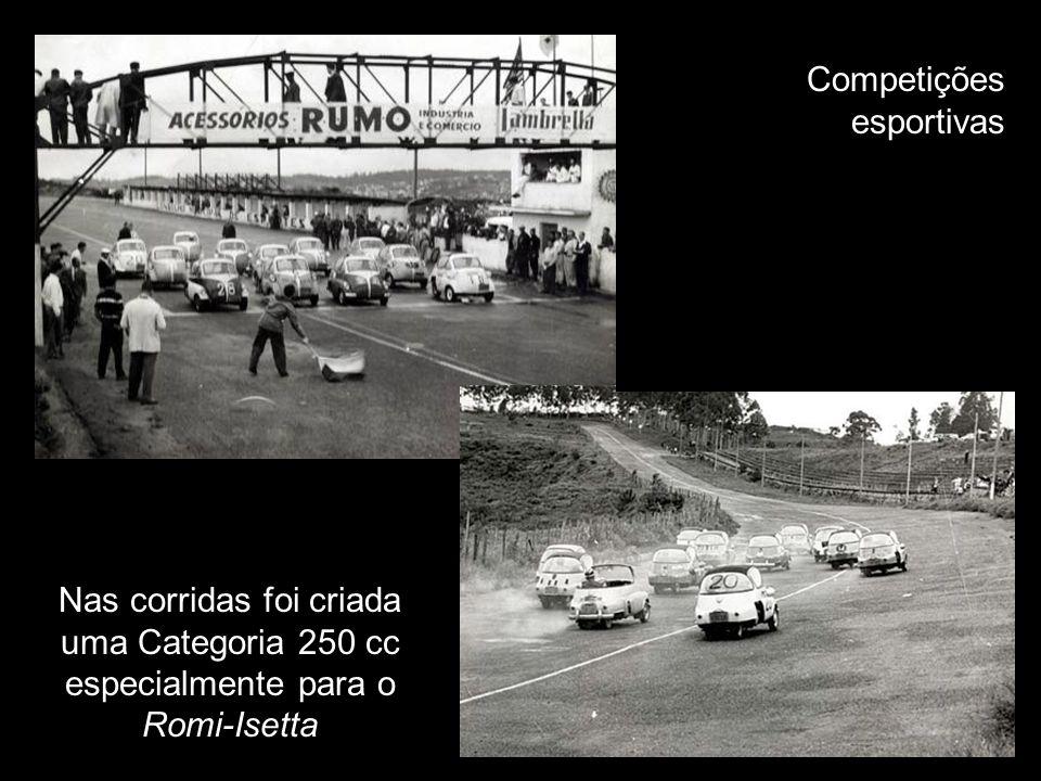O Romi-Isetta era muito utilizado para promoções e sorteios