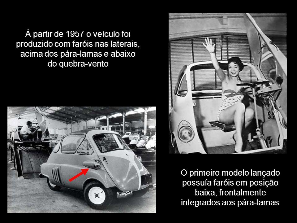 Durante os anos em que foi produzido, apesar de manter a estrutura original do veículo, o fabricante periodicamente implantava inovações tecnológicas