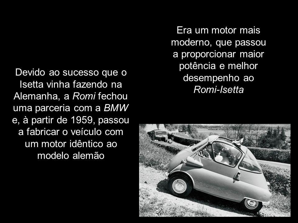 As mudanças mais significativas foram implementadas em 1959, com uma nova motorização