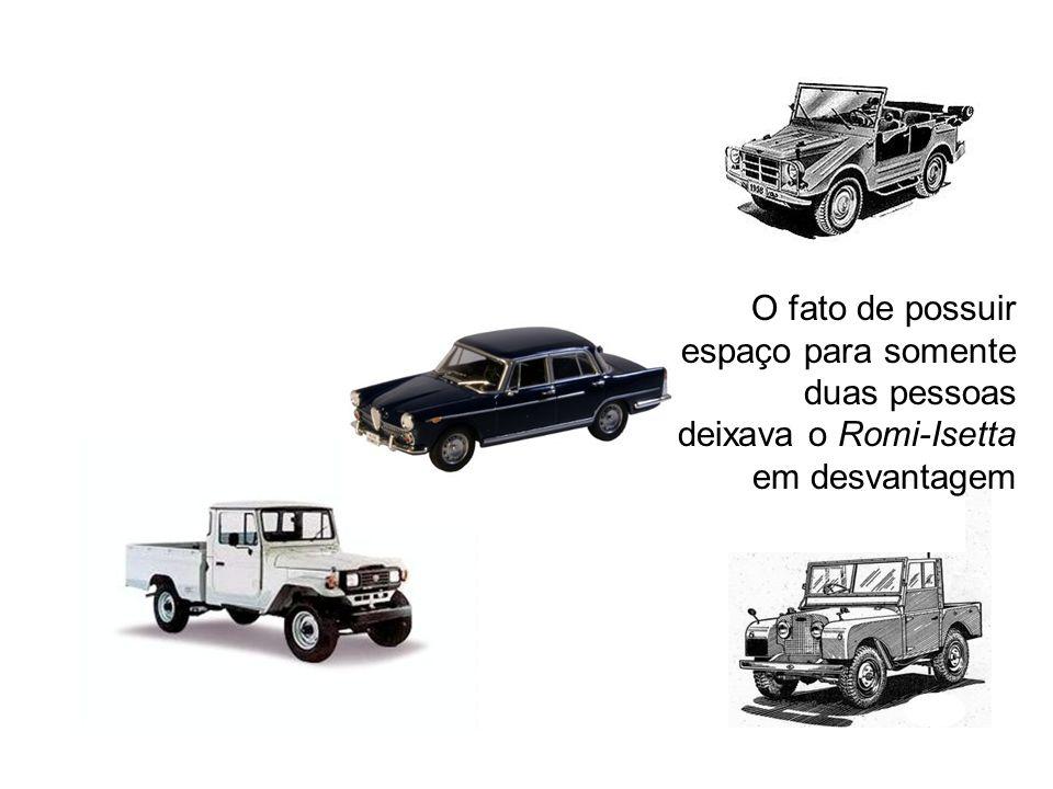 O Romi-Isetta alcançou sucesso no início, quando estava sózinho no mercado, porém o surgimento de toda uma variedade de concorrentes acabou sendo um e