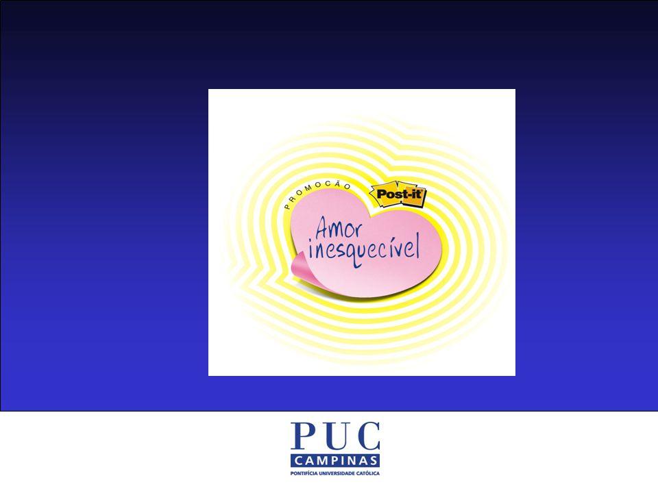 Linha Post-It, em especial o novo Post-It em formato de coração Produtos Participantes