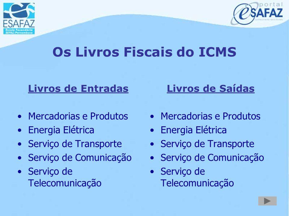 ICMS - Documentos em Papel