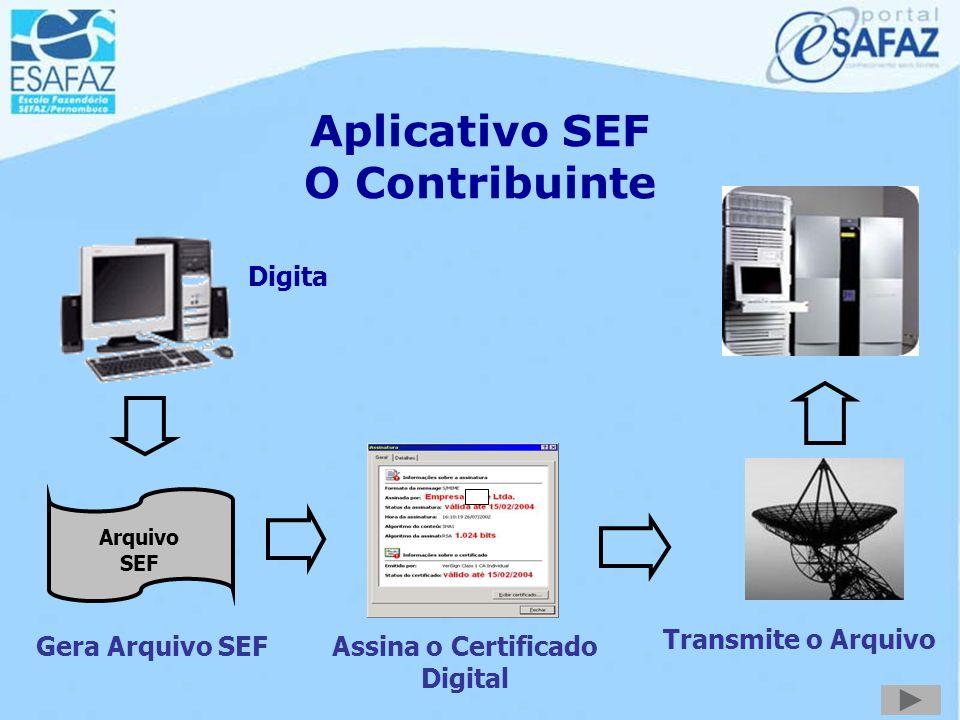 Sistema de Escrituração Fiscal - SEF Estrutura Jurídica www.sefaz.pe.gov.br/sef