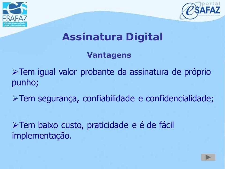 Certificação Digital Certificado Identificação