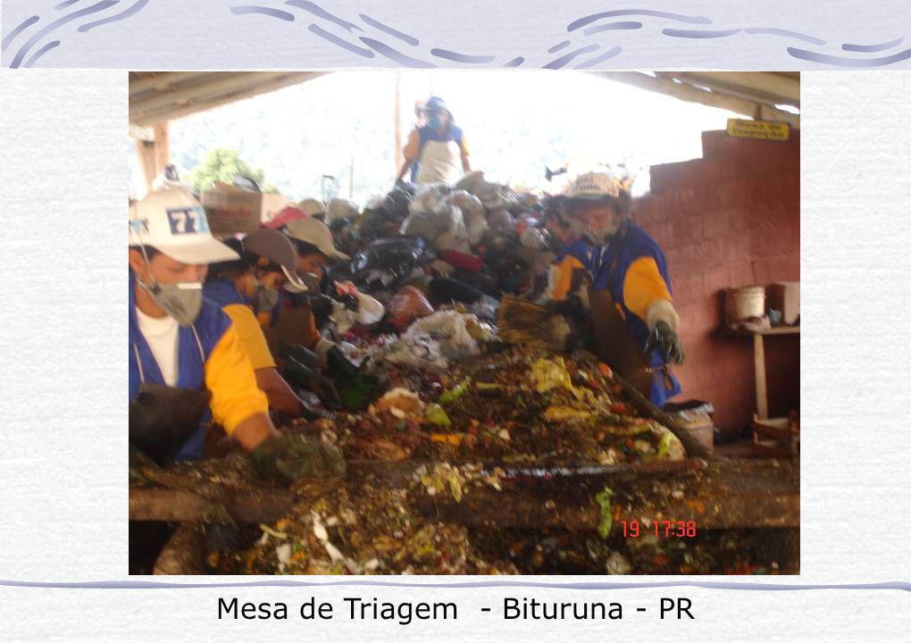 Mesa de Triagem - Bituruna - PR