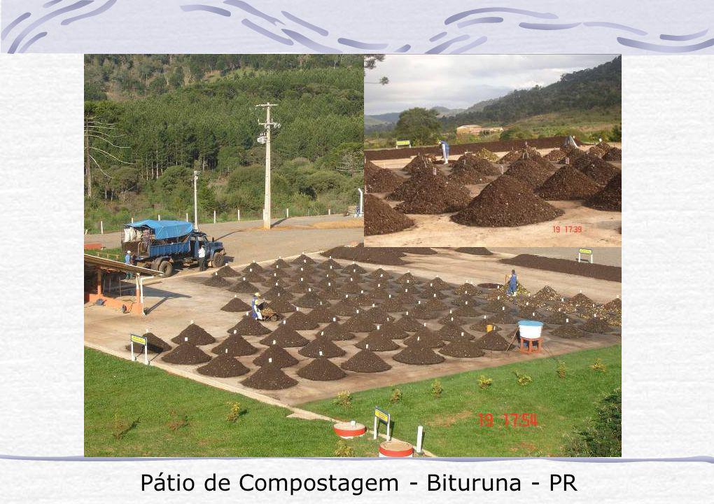 Pátio de Compostagem - Bituruna - PR