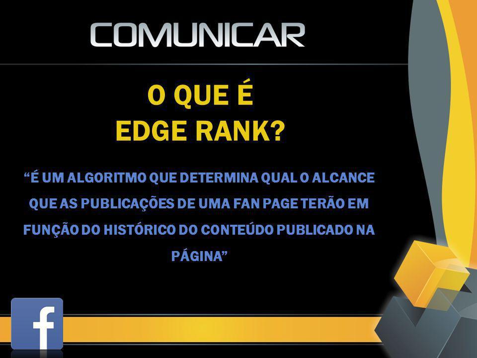 O QUE É EDGE RANK?