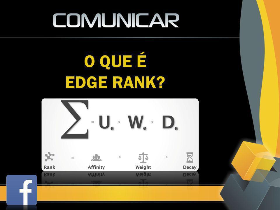 O QUE É EDGE RANK