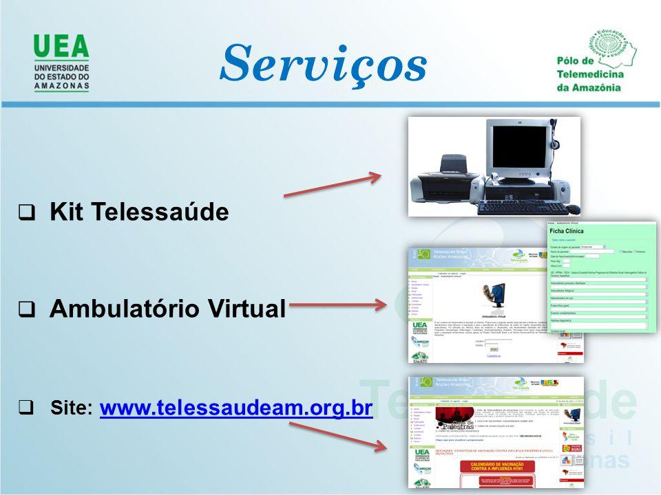Núcleo Telessaúde do Amazonas Contamos com o seu apoio e dedicação para que todos os recursos de Telessaúde sejam divulgados e utilizados para melhorar a qualidade de vida e saúde da sua comunidade.