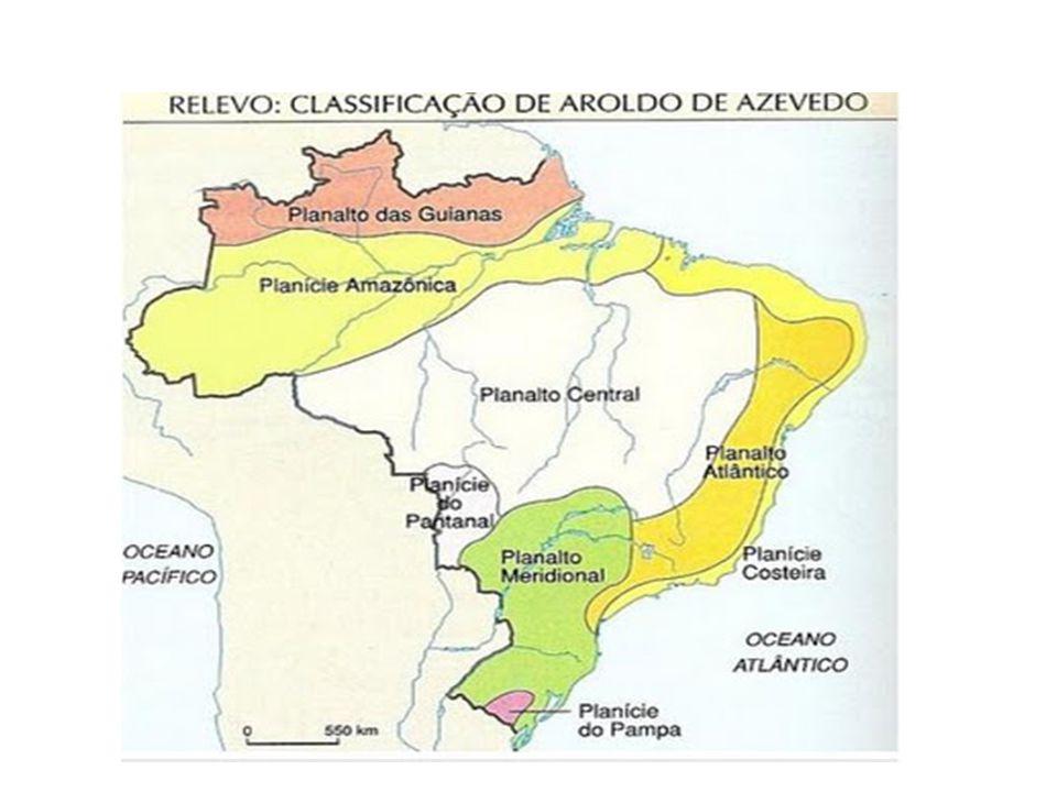 4 Planaltos Guianas Brasileiro Atlântico Meridional Central