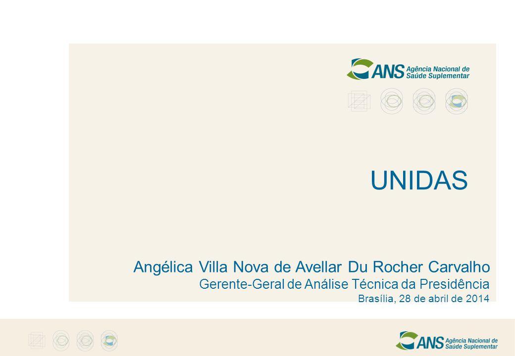 UNIDAS Angélica Villa Nova de Avellar Du Rocher Carvalho Gerente-Geral de Análise Técnica da Presidência Brasília, 28 de abril de 2014