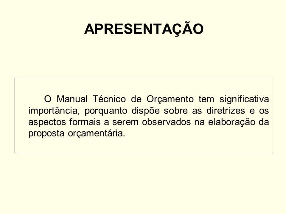 DISPONIBILIDADE O Manual Técnico de Orçamento 2009 encontra-se disponível para consulta nos endereços: www.seplag.df.gov.br www.distritofederal.df.gov.br