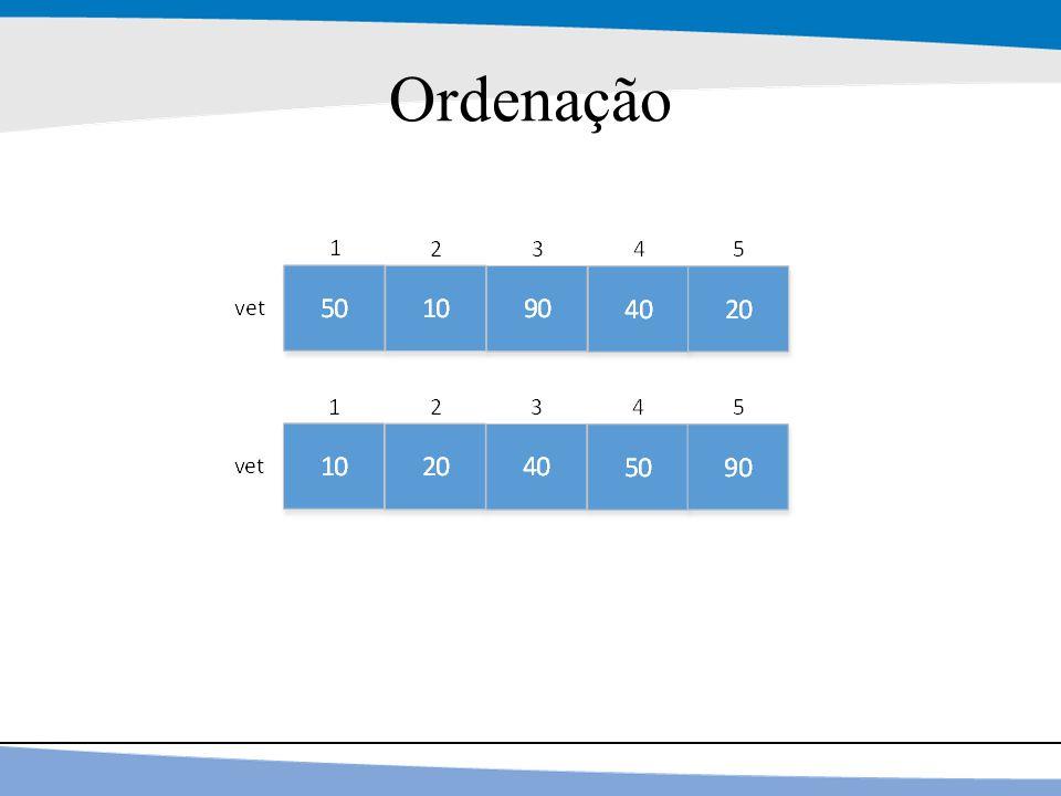 15 Ordenação