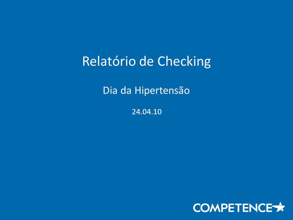Relatório de Checking Dia da Hipertensão 24.04.10