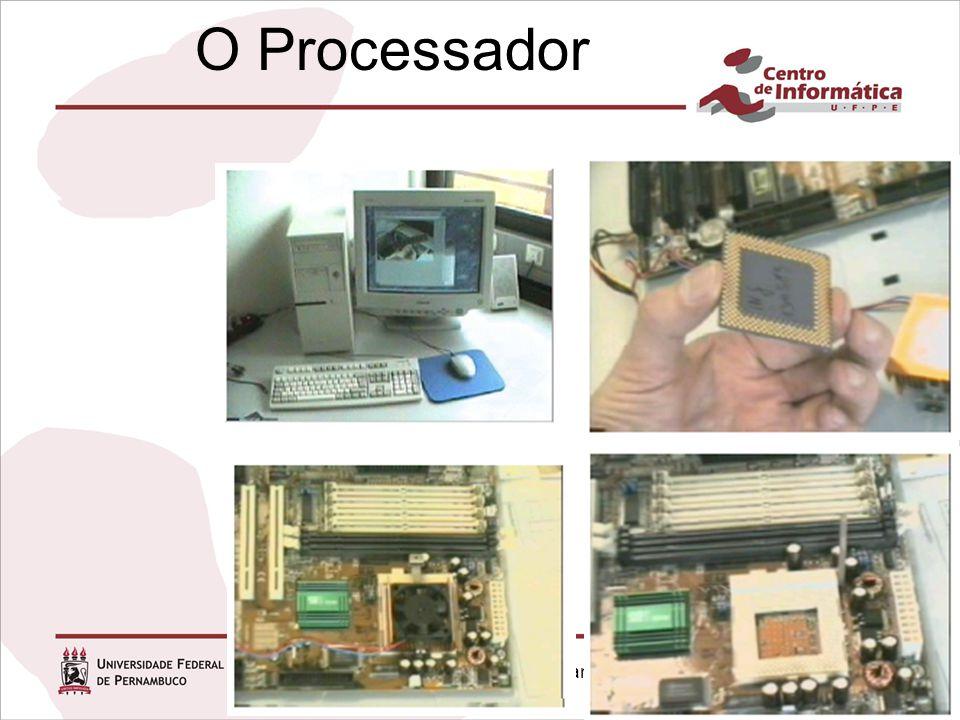 Infra-estrutura de Hardware Capítulo 1 O Processador