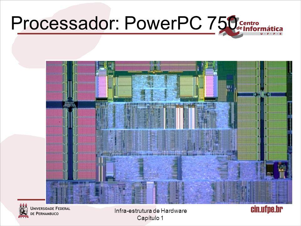 Infra-estrutura de Hardware Capítulo 1 Processador: PowerPC 750