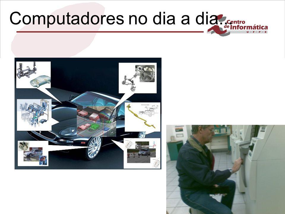 Infra-estrutura de Hardware Capítulo 1 Computadores no dia a dia... No nosso dia a dia....
