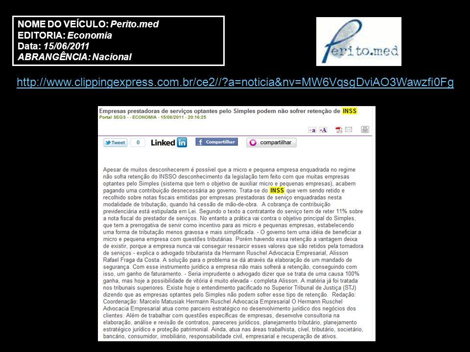 http://www.zemoleza.com.br/noticia/2441219-font-style=colorblue-background- coloryellowempresasfont-prestadoras-de-servicos-optantes-pelo-simples-podem-nao- sofrer-retencao-de-inss.html NOME DO VEÍCULO: Zé Moleza EDITORIA: Notícias Data: 16/06/2011 ABRANGÊNCIA: Regional