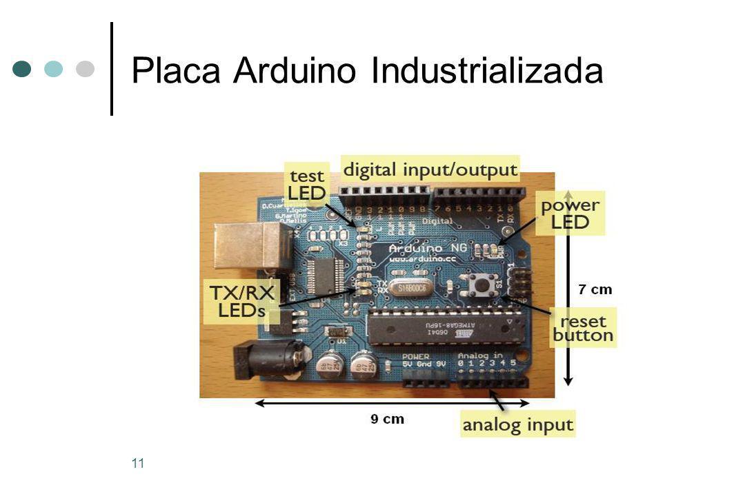 11 Placa Arduino Industrializada