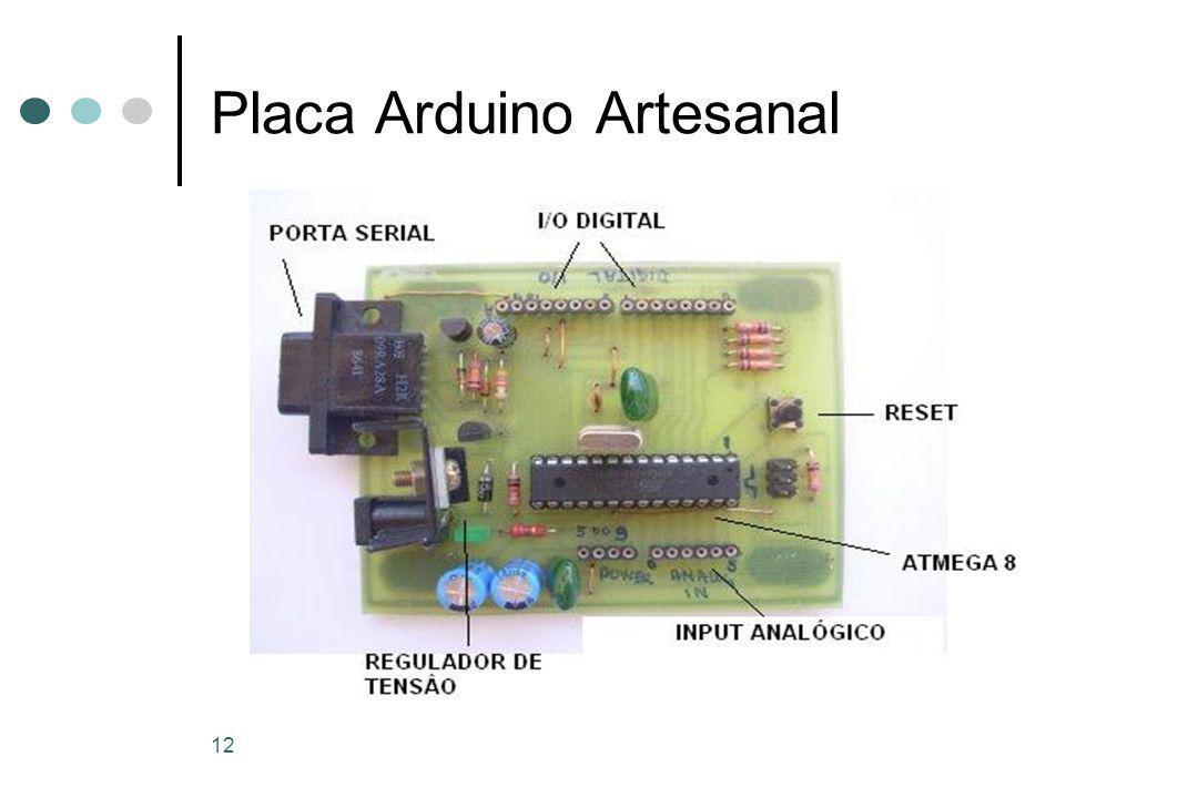 12 Placa Arduino Artesanal
