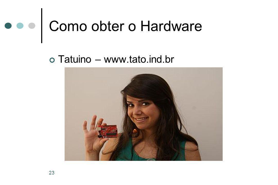 23 Como obter o Hardware Tatuino – www.tato.ind.br