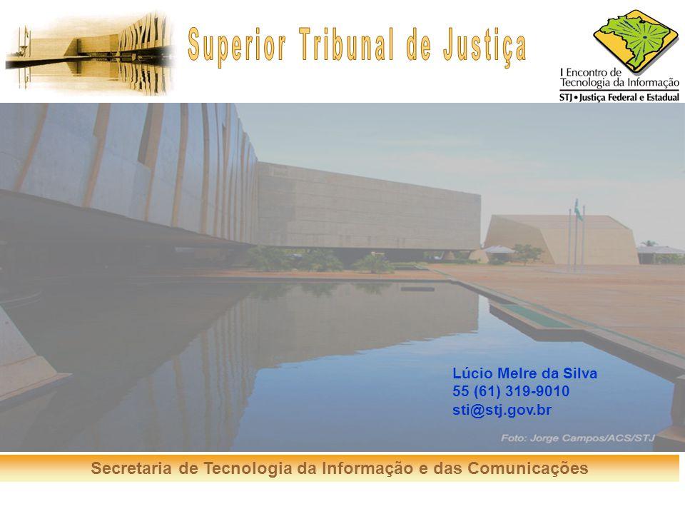 Lúcio Melre da Silva 55 (61) 319-9010 sti@stj.gov.br