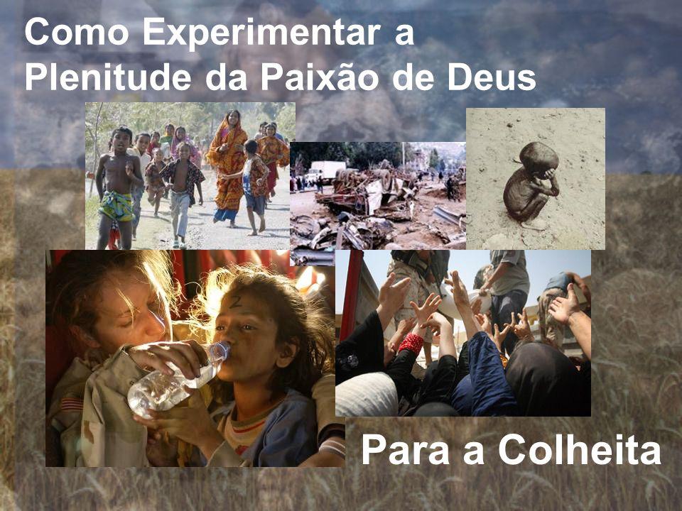 Como Experimentar a Plenitude da Paixão de Deus Para a Colheita