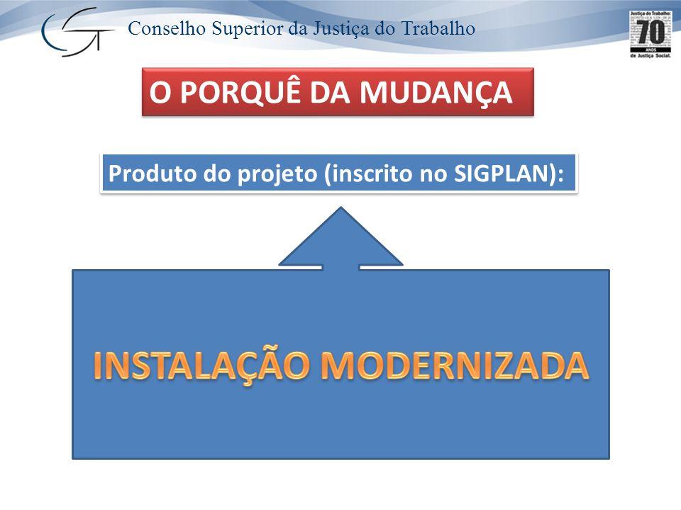 Conselho Superior da Justiça do Trabalho CÁLCULO DO ÍNDICE ESTRUTURAL