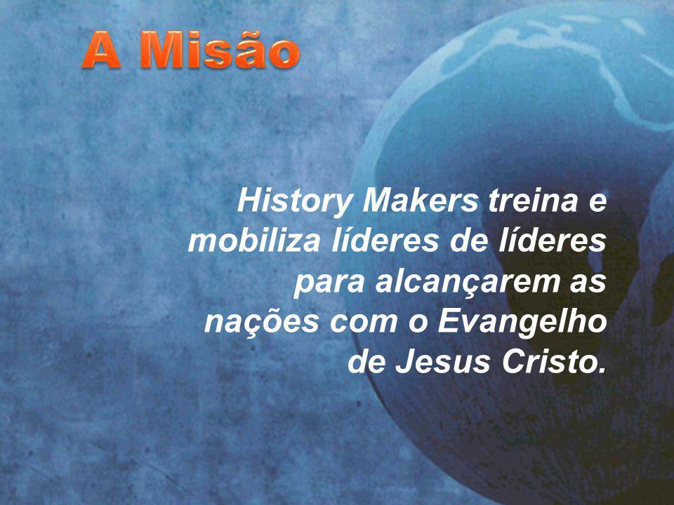 . History Makers treina e mobiliza líderes de líderes para alcançarem as nações com o Evangelho de Jesus Cristo.