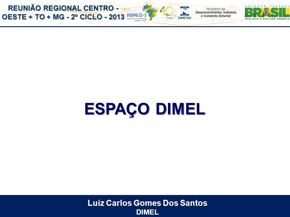ESPAÇO DIMEL Luiz Carlos Gomes Dos Santos DIMEL