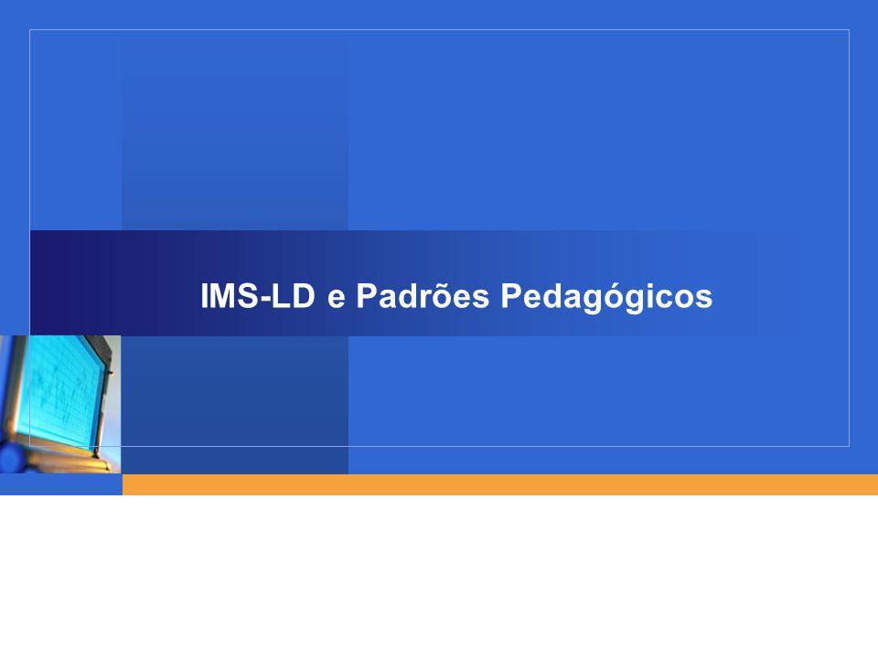 12 IMS-LD por dentro: uma linguagem semântica Linguagem de apresentação (ex.