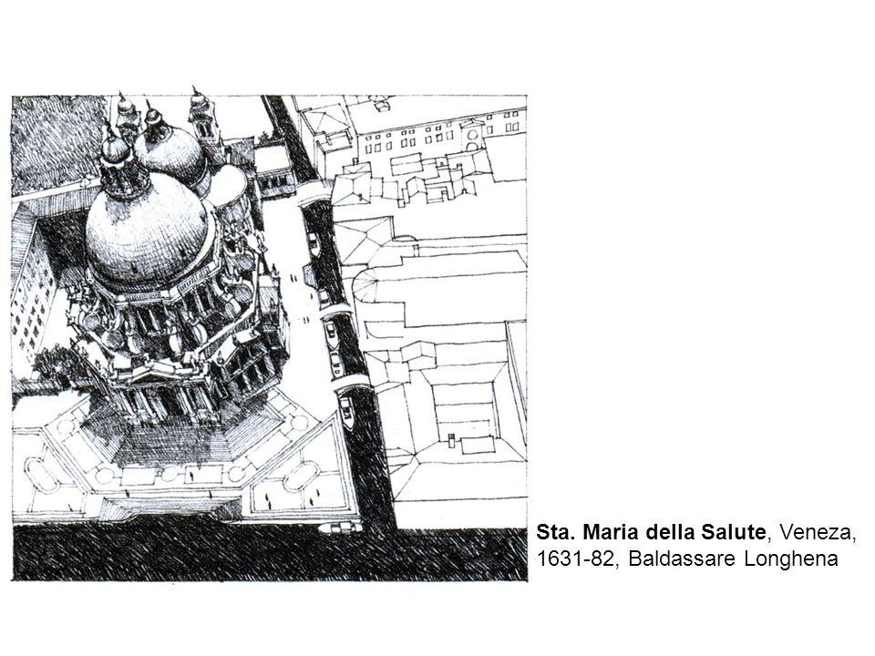 Sta. Maria della Salute, Veneza, 1631-82, Baldassare Longhena