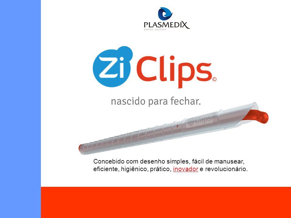 Concebido com desenho simples, fácil de manusear, eficiente, higiênico, prático, inovador e revolucionário.