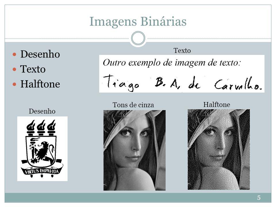 Imagens Binárias Desenho Texto Halftone Tons de cinza Texto Desenho 5