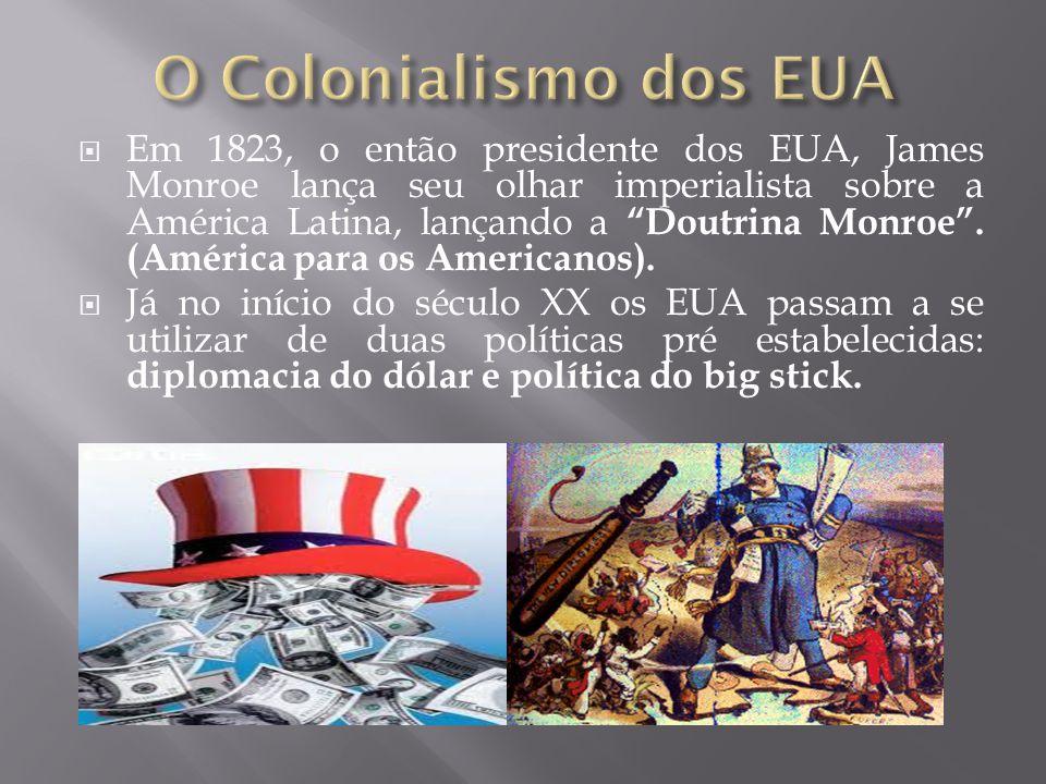  No final do século XIX e início do XX, outros países também fazem grandes investimentos na América Latina, França, Alemanha e EUA também viam a Amér