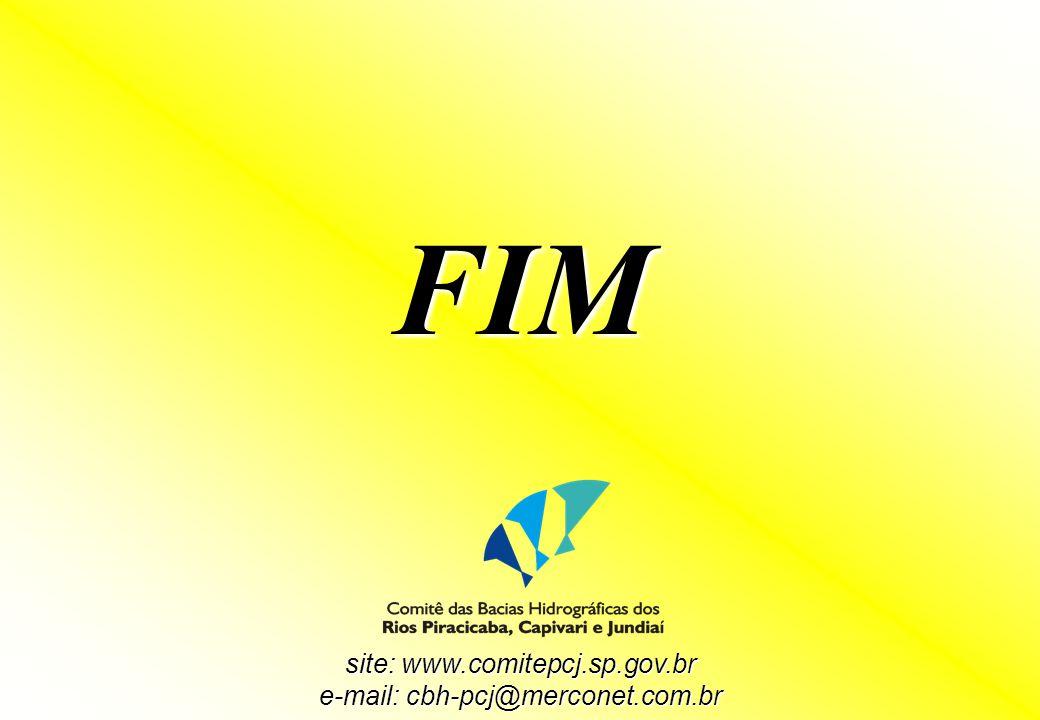 site: www.comitepcj.sp.gov.br e-mail: cbh-pcj@merconet.com.br FIM