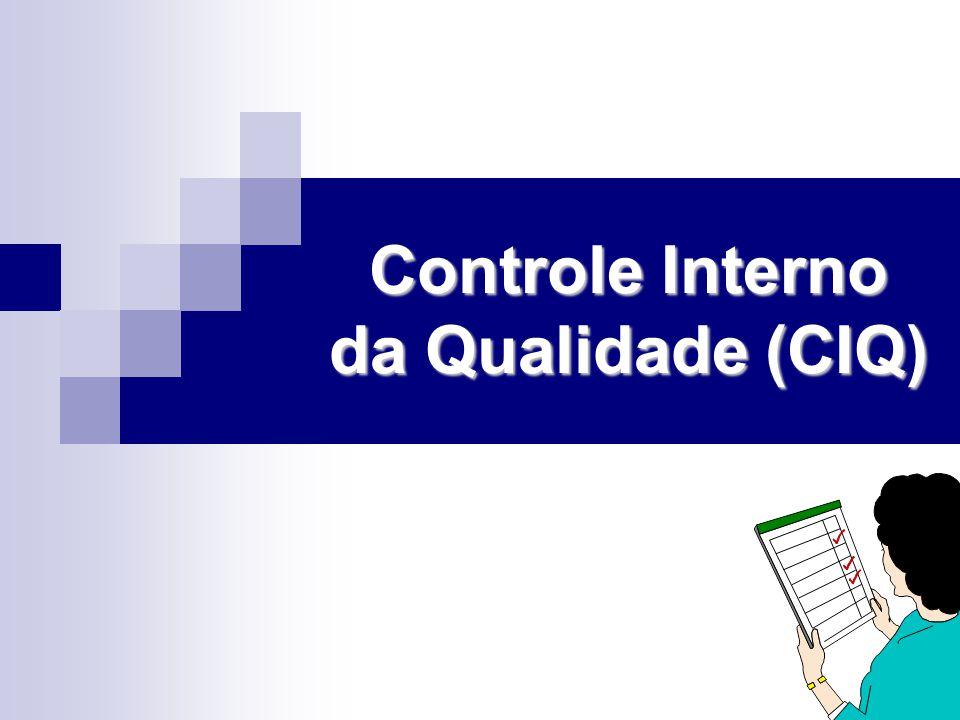 Controle Interno da Qualidade (CIQ)