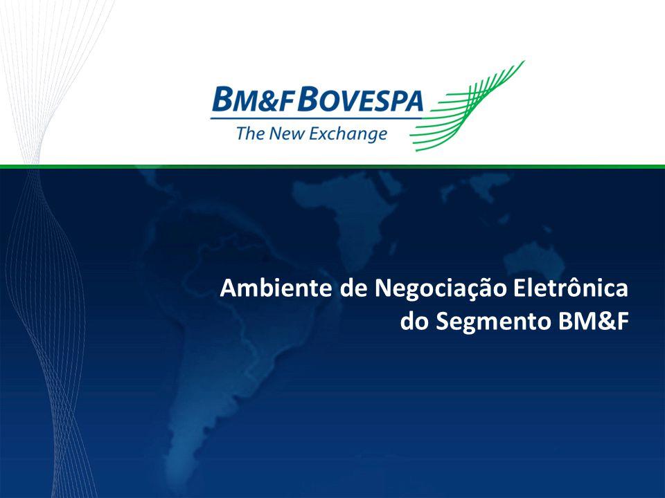 Securities, Commodities and Futures Exchange Acesso via Co-location BVMF  BVMF reservou e preparou área segregada do CPD, com acesso restrito e controlado e infra-estruturas física e lógica para a oferta de co-location;  Lançamento para o segmento BM&F em junho/09;  Lançamento para o segmento Bovespa no 3º trimestre de 2009 (após conclusão da ampliação da capacidade da clearing de renda variável – CBLC);  Área de staging;  Apoio técnico de smart hands.