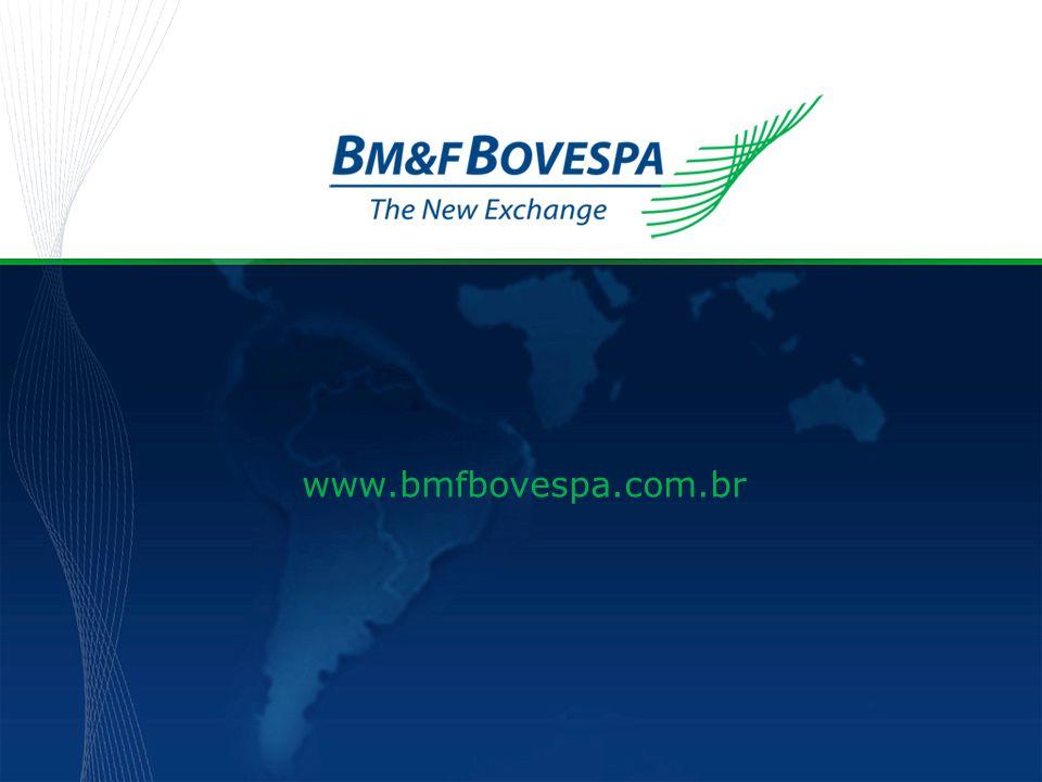 Título da apresentação www.bmfbovespa.com.br
