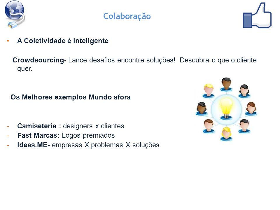 A Coletividade é Inteligente Crowdsourcing- Lance desafios encontre soluções.