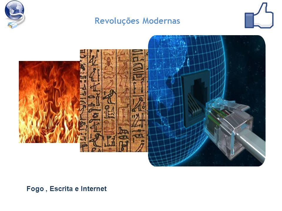 Revoluções Modernas Fogo, Escrita e Internet
