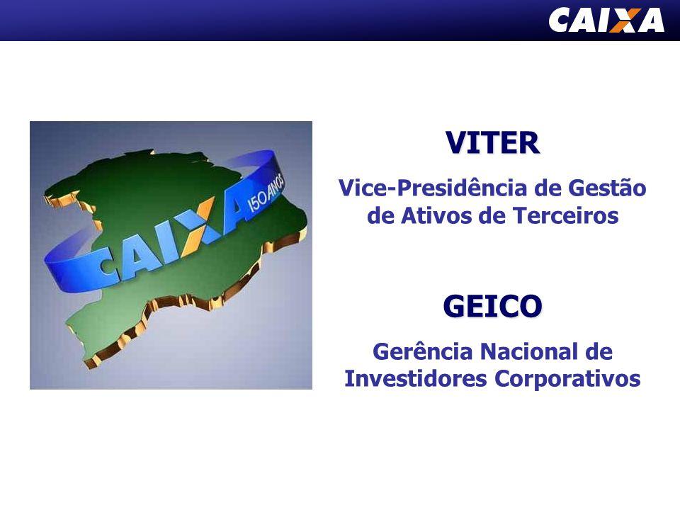 VITER Vice-Presidência de Gestão de Ativos de TerceirosGEICO Gerência Nacional de Investidores Corporativos