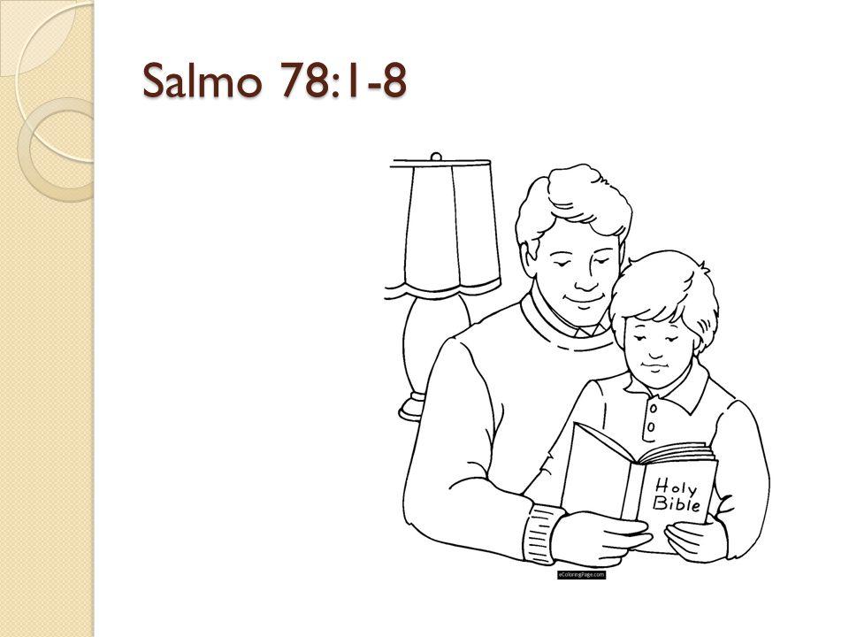Salmo 78:1-8