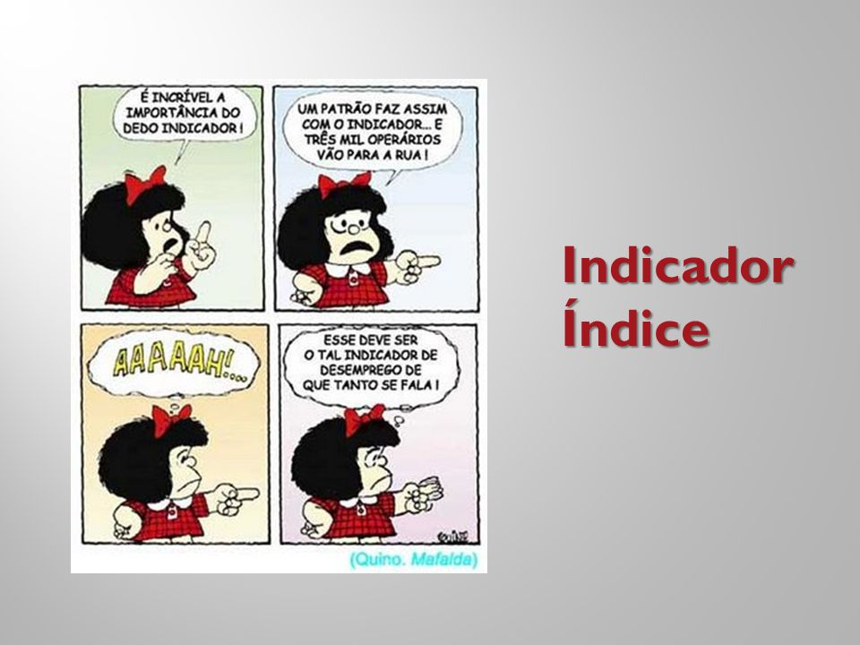 IndicadorÍndice