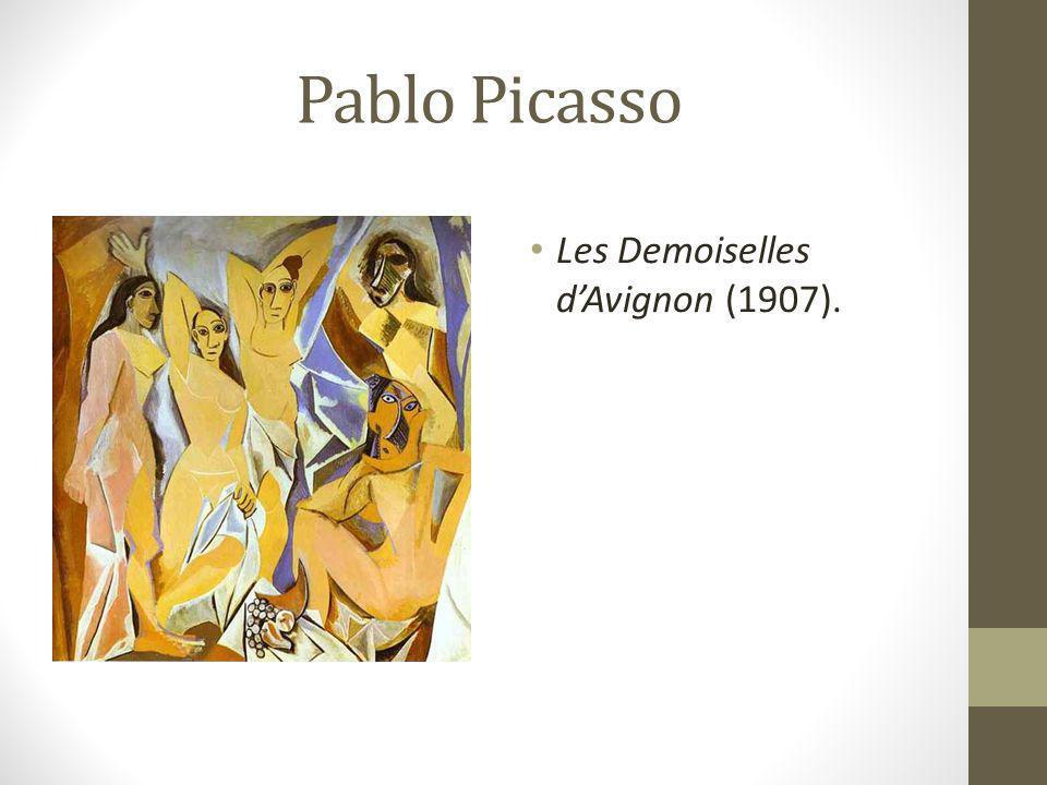 Pablo Picasso Les Demoiselles d'Avignon (1907).