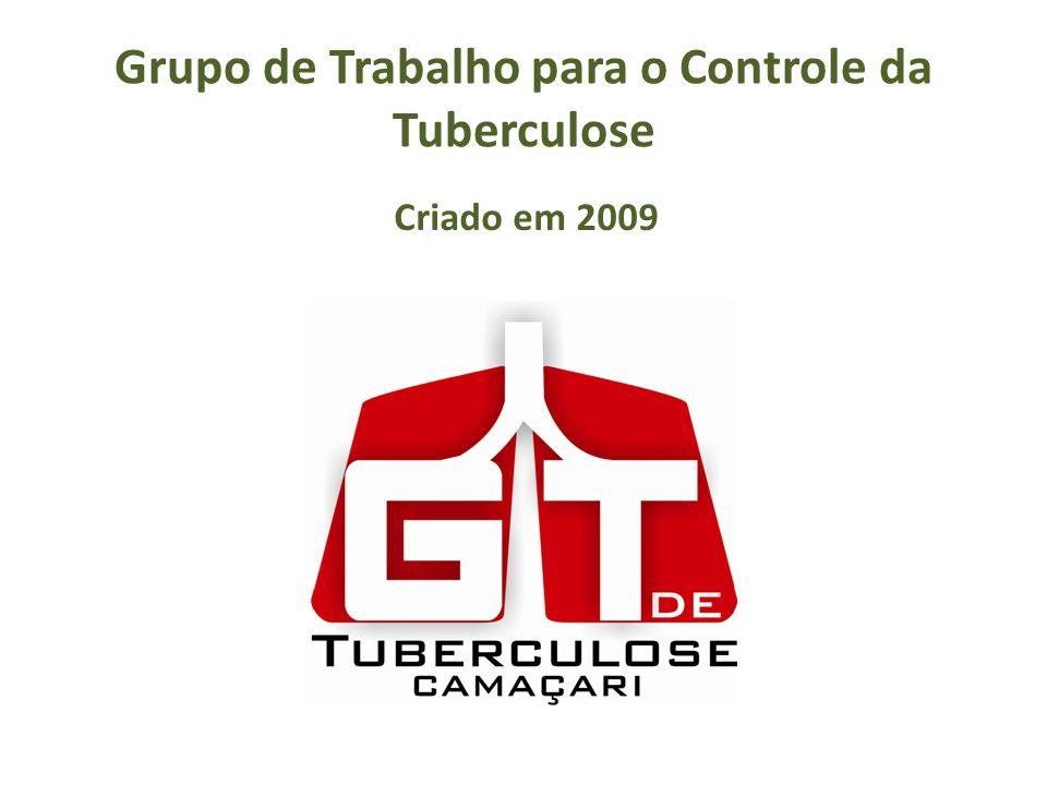 Grupo de Trabalho para o Controle da Tuberculose Criado em 2009