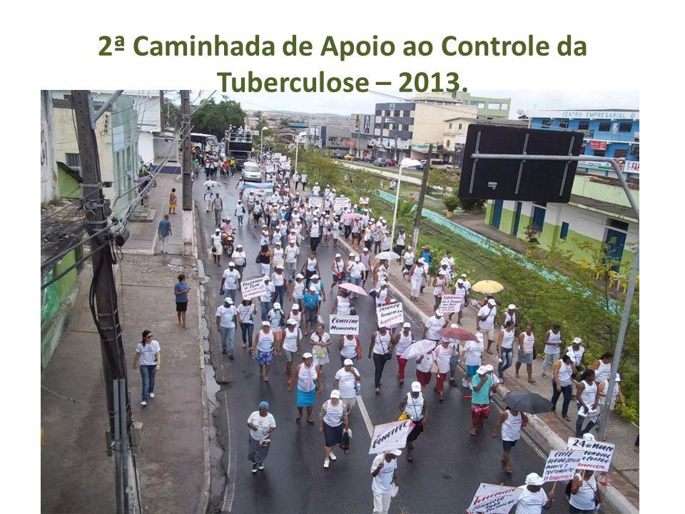 2ª Caminhada de Apoio ao Controle da Tuberculose – 2013.
