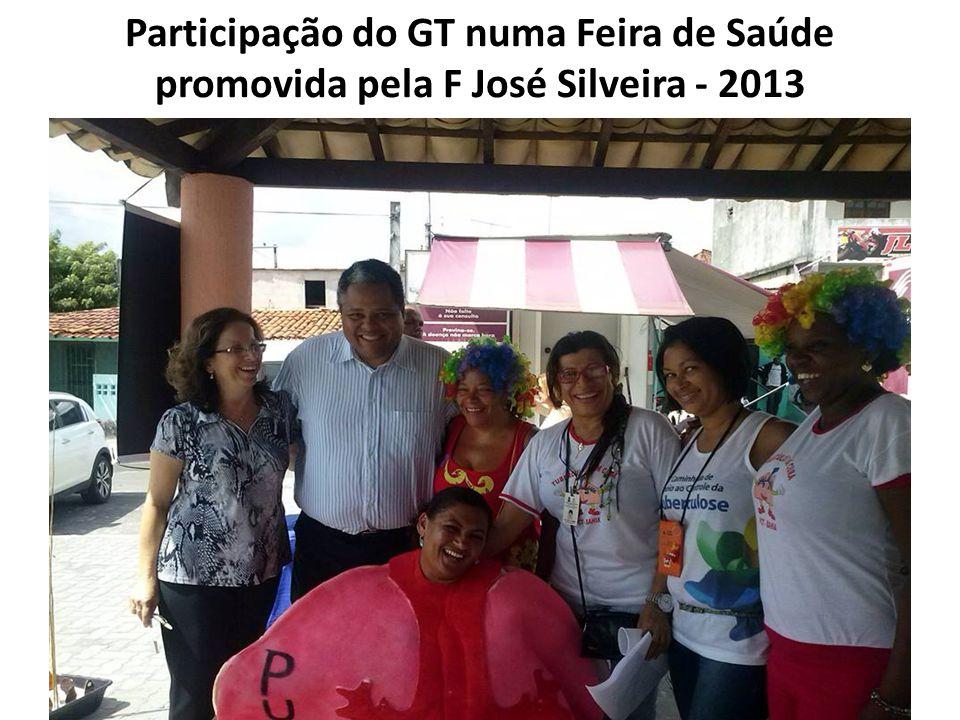 Participação do GT numa Feira de Saúde promovida pela F José Silveira - 2013